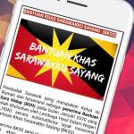 Apps PERCUMA Panduan Bantuan Khas Sarawakku Sayang